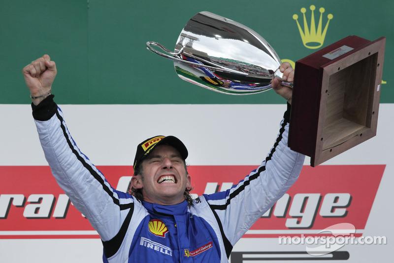 Coppa Shell podium: winnaar Henrik Hedman