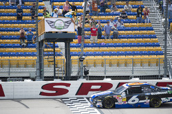 Trevor Bayne takes the win