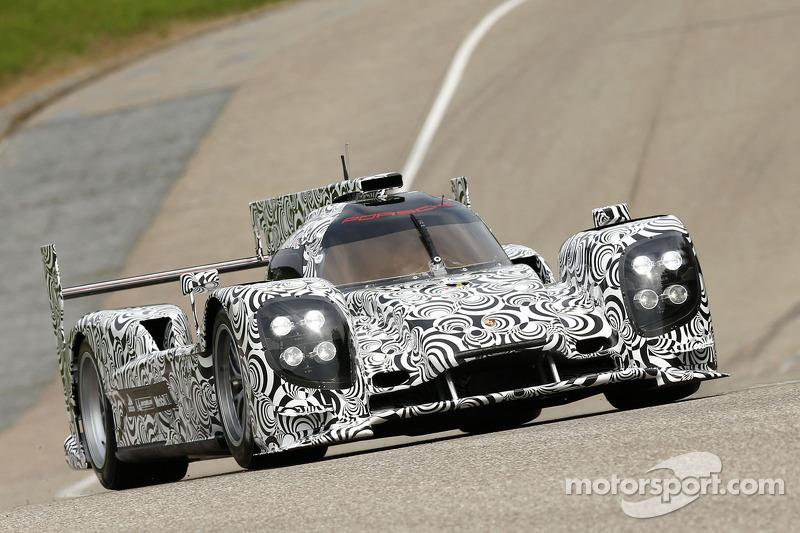Тимо Бернхард. Обкатка Porsche LMP1, тестовый СУ.