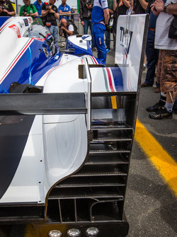 #7 Toyota Racing Toyota TS030 Hybrid rear wing