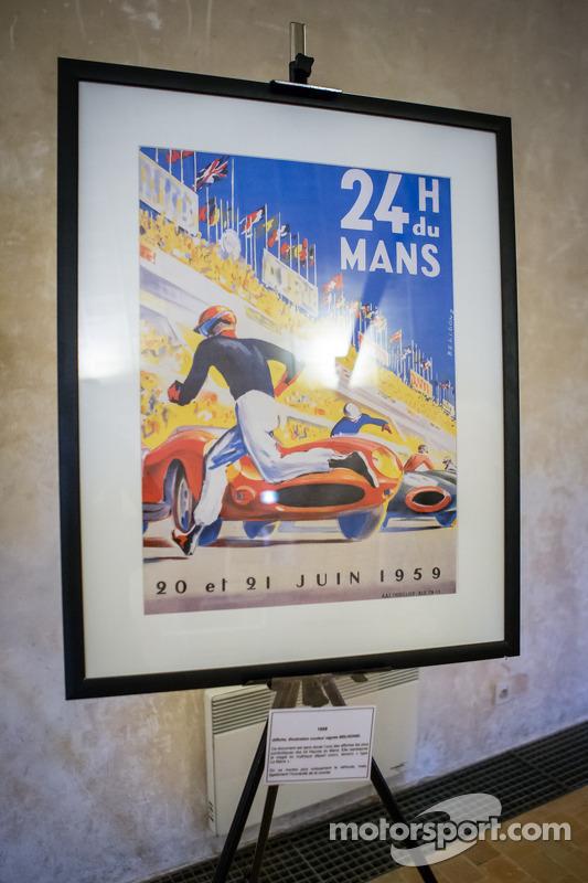 24 Horas de Le Mans: coleção de posters históricos