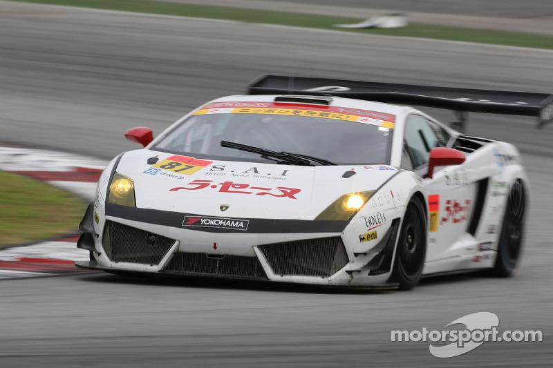 #87 JLOC Lamborghini Gallardo LP600+ GT3: Hiroki Yoshimoto, Hideki Yamauchi