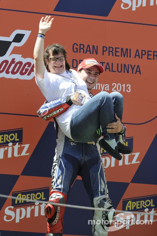 O vencedor Jorge Lorenzo, Yamaha Fatory Racing