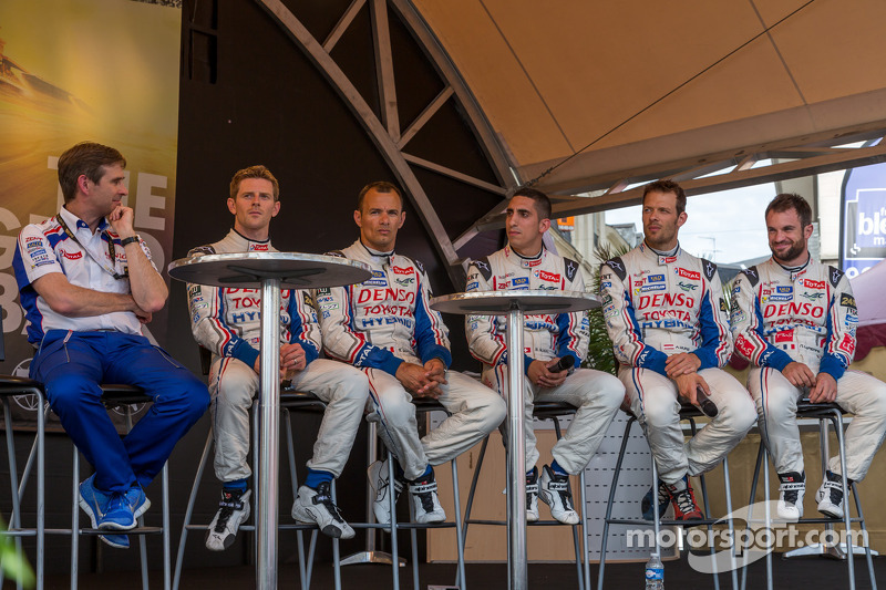 Alexander Wurz, Nicolas Lapierre, Anthony Davidson, Stéphane Sarrazin, Sebastien Buemi