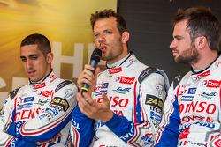 Alexander Wurz, Nicolas Lapierre, Sebastien Buemi