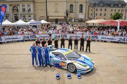 #54 AF Corse Ferrari F458 Italia: Yannick Mallegol, Jean-Marc Bachelier, Howard Blank