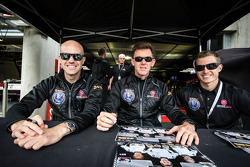 Marino Franchitti, Scott Tucker, Ryan Briscoe