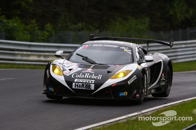Arno Klasen, Rudi Adams, Stefan Aust, Dörr Motorsport, McLaren MP4-12C GT3