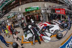 #92 Porsche AG Team Manthey Porsche 991 RSR: Marc Lieb, Richard Lietz, Romain Dumas