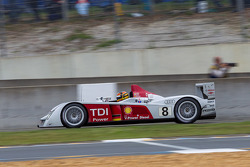 Frank Biela drives the Audi R10 TDI (2006) - Audi pioneering diesel engines in motorsport