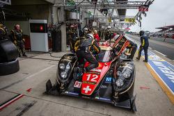 Pit stop for #12 Rebellion Racing Lola B12/60 Coupe Toyota: Nicolas Prost, Neel Jani, Nick Heidfeld