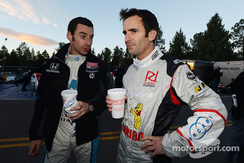 Simon Pagenaud and Romain Dumas