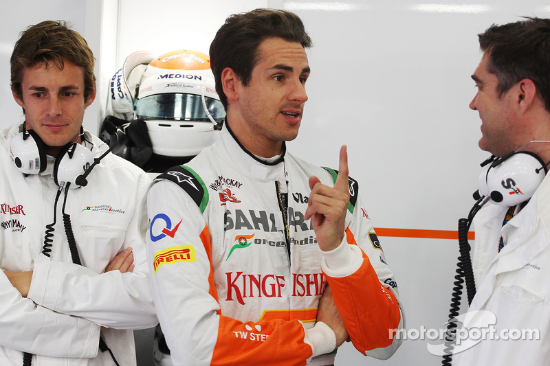 James Rossiter, Sahara Force India F1 Simulator Driver with Adrian Sutil, Sahara Force India F1 and