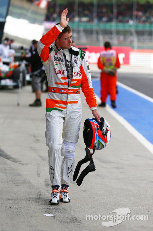 Paul di Resta, Sahara Force India F1 acena para os fãs