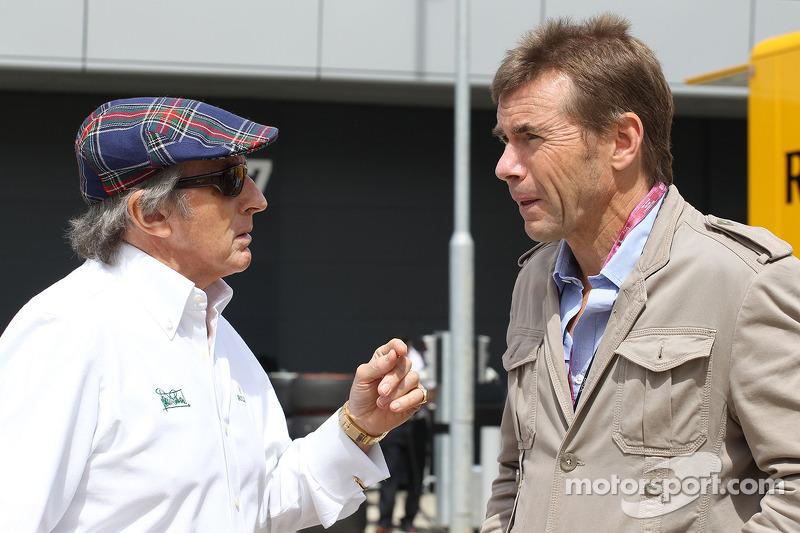 Jackie Stewart, with Paul Stewart