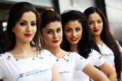 Sahara Force India F1 Team Speed Divas