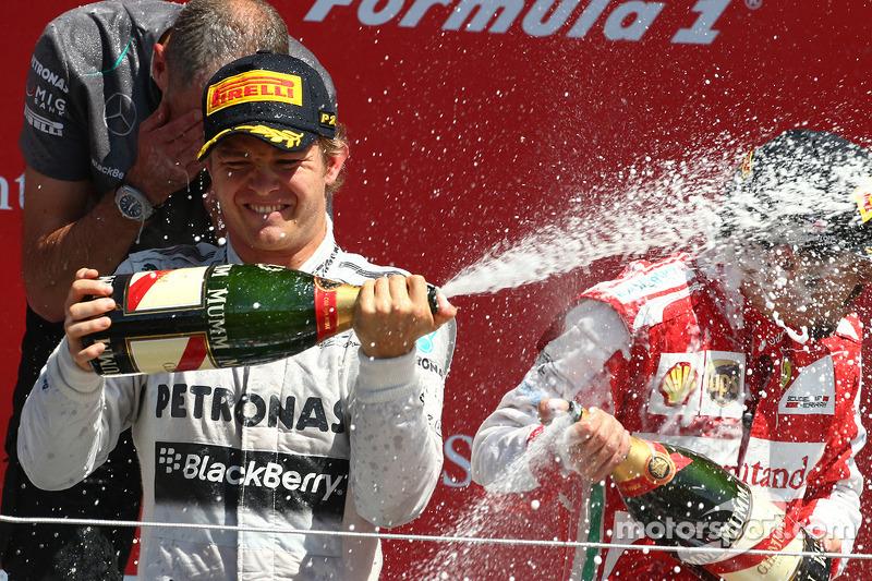 1e plaats Nico Rosberg, Mercedes AMG F1 W04