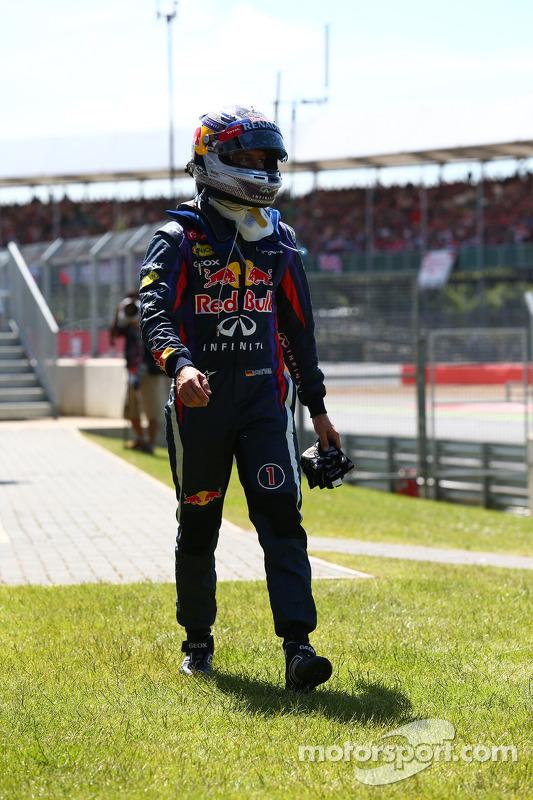 Sebastian Vettel, Red Bull Racing abandaona