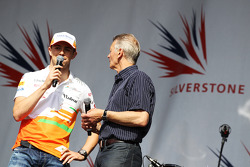 Paul di Resta Sahara Force India F1 e Tony Jardine no show pós-corrida