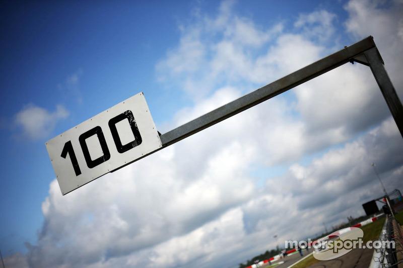 100 meter-bord