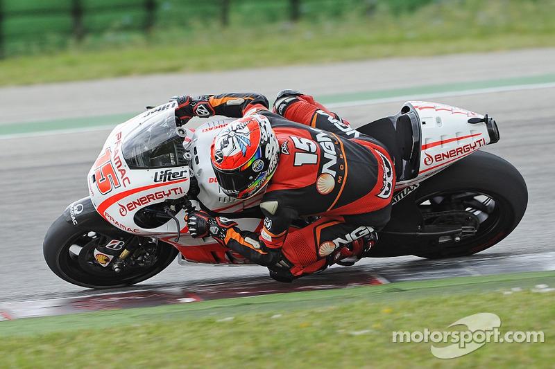 Alex de Angelis prueba el Pramac Ducati