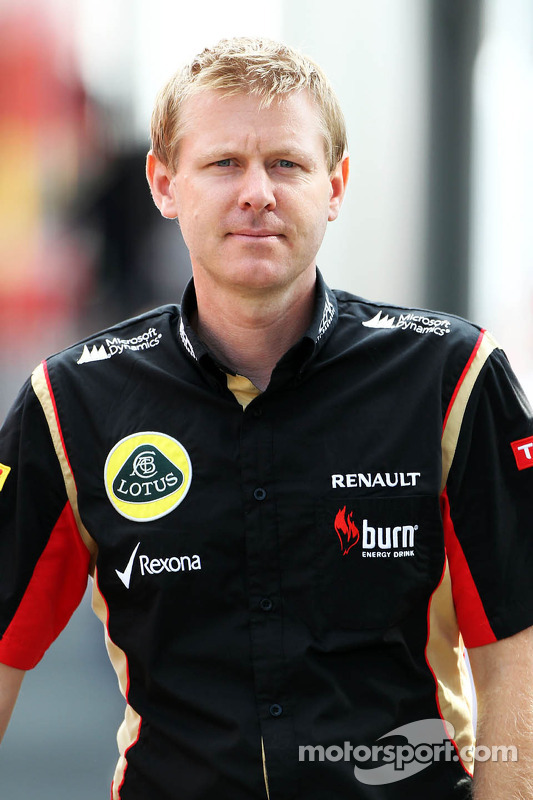 Andy Stobart, Assessor de imprensa da Lotus F1 Team