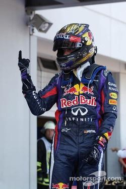 Sebastian Vettel at the 2013 German Grand Prix