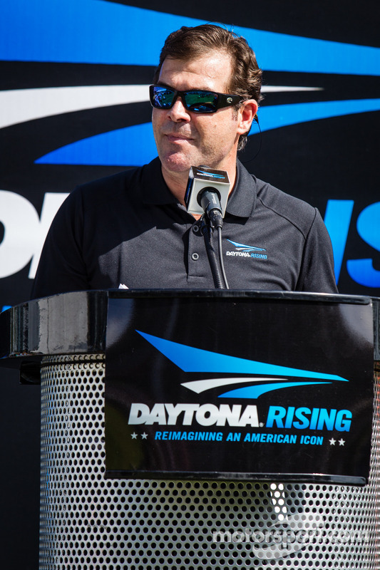 Daytona Rising Event: Presidente do Daytona International Speedway, Joie Chitwood