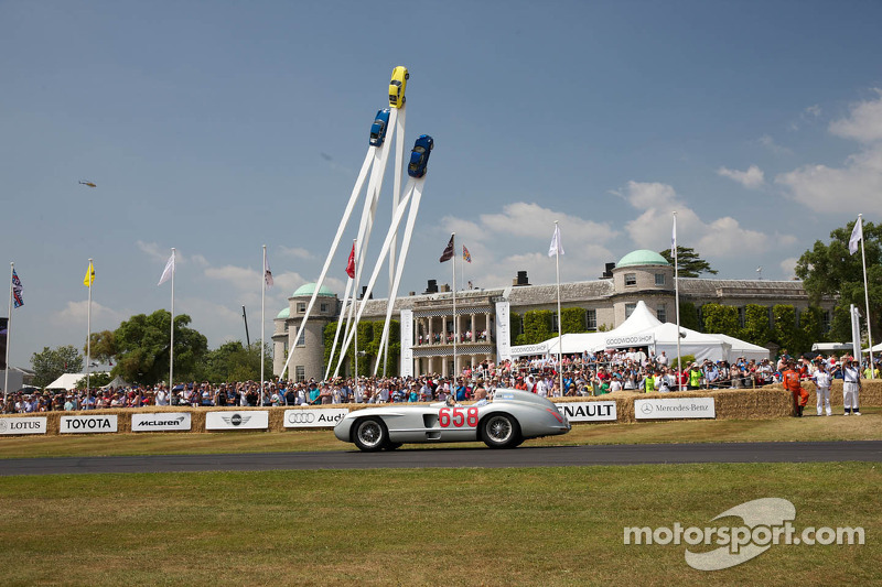 Stirling Moss, Goodwood House