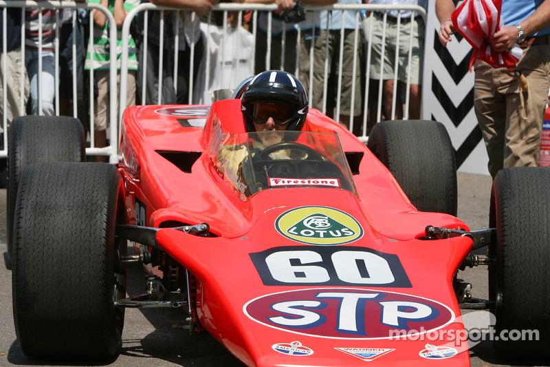 Damon Hill, Lotus-Pratt & Whitney 56 STP Special