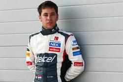 Robin Frijns, Sauber Test en Reserve Driver
