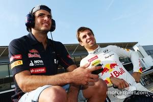 Carlos Sainz Jr. with Antonio Felix da Costa