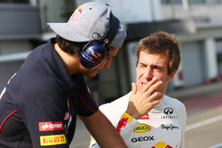 Carlos Sainz Jr., Scuderia Toro Rosso Test Driver met Antonio Felix da Costa, Testrijder Red Bull Racing