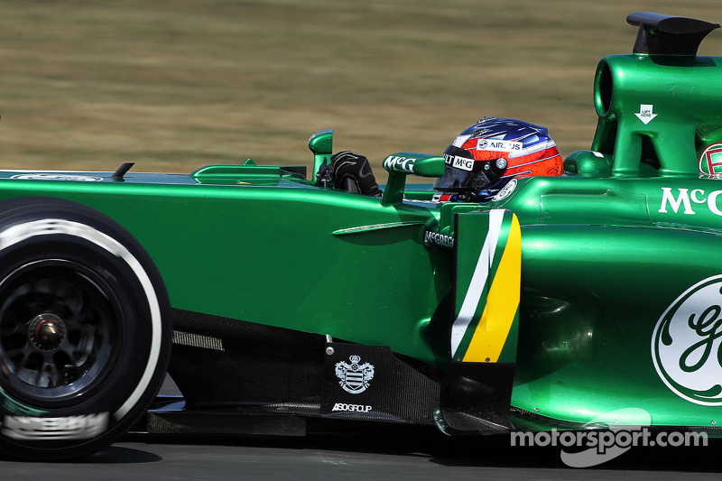 Will Stevens, Caterham CT03 Test Driver