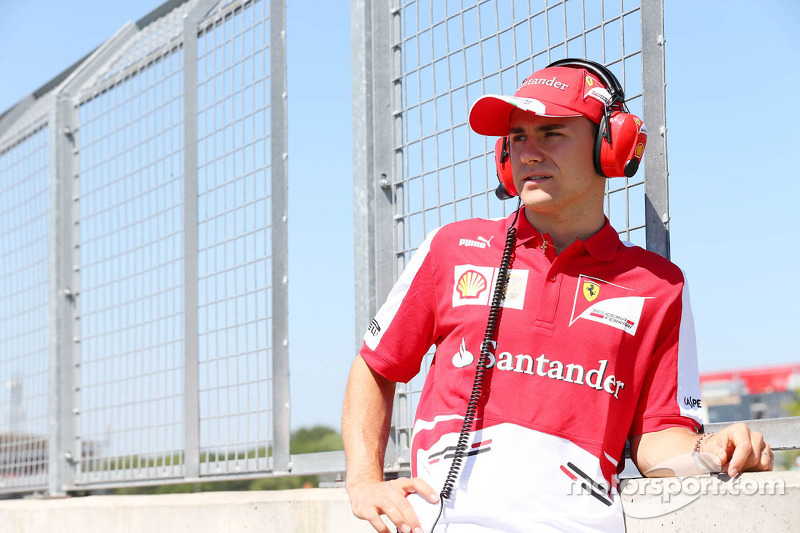 Davide Rigon, Ferrari Test Driver