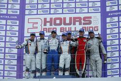 LM PC podium: winners Paul-Loup Chatin, Gary Hirsch, second place Alex Loan, Nico Verdonck, third place C.O. Jones, Nicky Catsburg