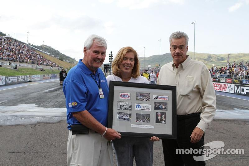 Bandimere viert 25 jaar NHRA racing