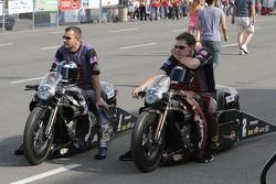 Eddie Krawiec and Andrew Hines