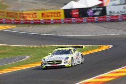 #84 HTP Gravity Charouz, Mercedes-Benz SLS AMG GT3: Maximilian Buhk, Maximilian Götz, Bernd Schneide