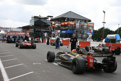 #53 Christian Eicke, Dallara (Worldseries by Renault-2008)