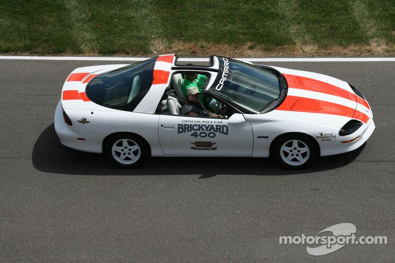 Brickyard 400 pace cars door de jaren heen