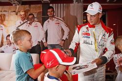 Mikko Hirvonen, Citroën DS3 WRC, Citroën Total Abu Dhabi World Rali Team