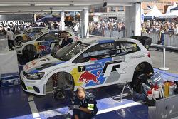 Área da equipe Volkswagen