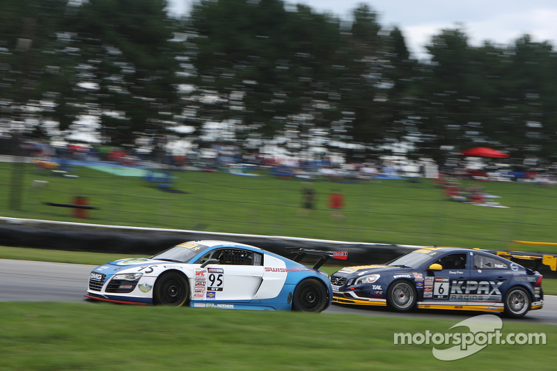 Bill Ziegler, Audi R8 LMS Randy Pobst, Volvo S6