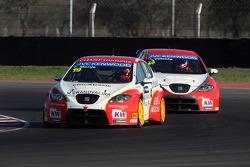 Fernando Monje, SEAT Leon WTCC, Campo Racing e Hugo Valente, SEAT Leon WTCC, Campos Racing
