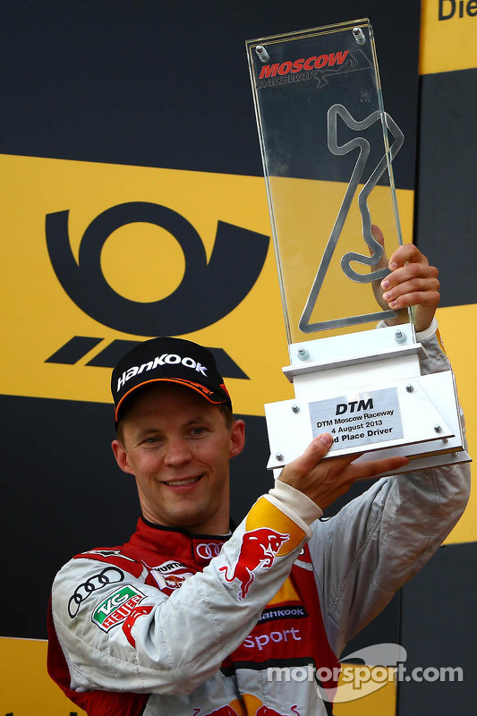 pódio, Mattias Ekström, Audi Sport Team Abt Sportsline, Audi A5 DTM
