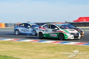 Tiago Monteiro, Honda Civic, Honda Racing Team J.A.S.