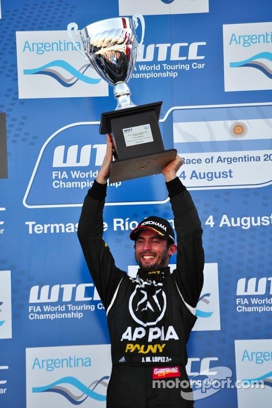 Jose Maria Lopez, BMW 320 TC, Wiechers-Sport vencedor da corrida