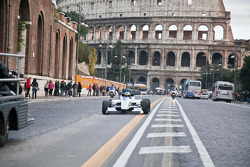 Test driver Lucas di Grassi, Formula E Rome presentation