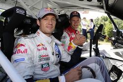 Mattias Ekström and Sébastien Ogier